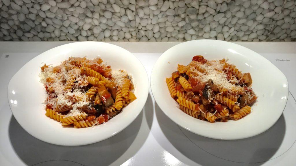 Recipe: Aubergine Amatriciana Pasta