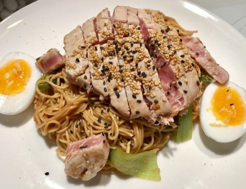 Recipe: Asian Noodle Seared Tuna