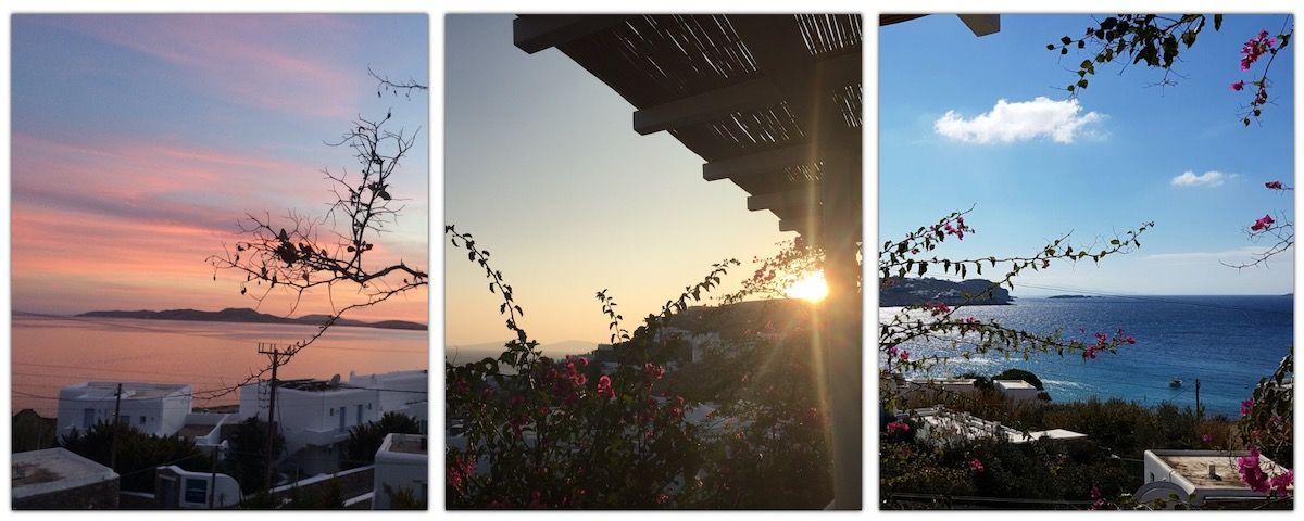 Mykonos Villa Views